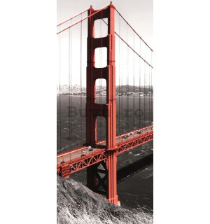 Fototapet: Golden Gate Bridge (1) - 211x91 cm