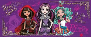 Fototapet: Mattel Ever After High (4) - 104x250 cm