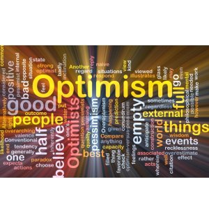 Fototapet: Optimism - 184x254 cm
