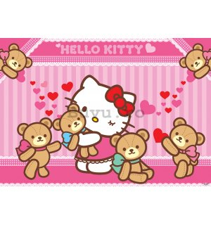 Fototapet: Hello Kitty (2) - 254x368 cm