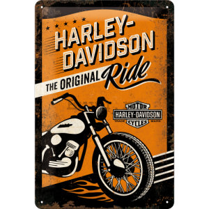 Placă metalică - Harley-Davidson (The Original Ride)