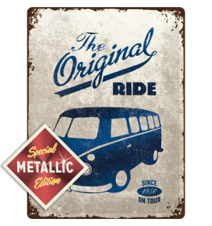 Placă metalică - VW The Original Ride (Special Edition)