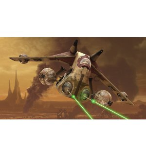 Fototapet: Star Wars Attack of the Clones (1) - 184x254 cm