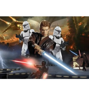 Fototapet: Star Wars Attack of the Clones (2) - 184x254 cm