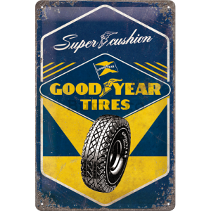 Placă metalică: Good Year Tires  - 30x20 cm