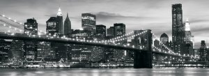 Fototapet: Brooklyn Bridge - 104x250 cm