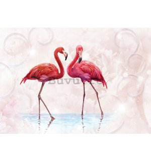 Tablou canvas: Flamingo - 75x100 cm
