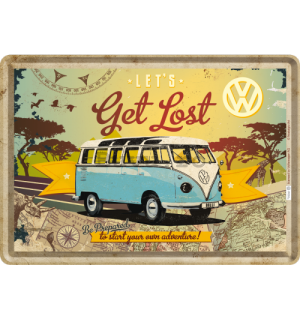 Ilustrată metalică - VW Let's Get Lost