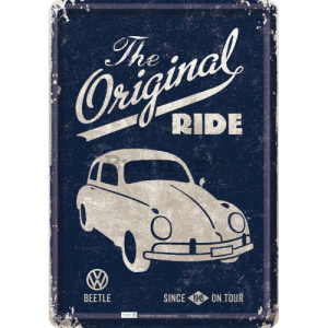 Ilustrată metalică - VW Beetle (The Original Ride)