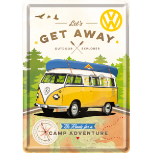 Ilustrată metalică - VW Let's Get Away