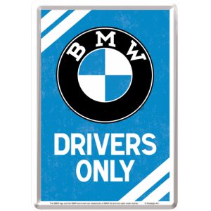 Ilustrată metalică - BMW Drivers Only