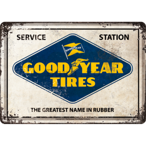 Ilustrată metalică - Good Year Tires
