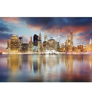 Fototapet: Reflexie New York - 254x368 cm