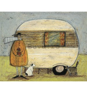 Tablou canvas - Sam Toft, Home from Home