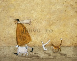 Tablou canvas - Sam Toft, Ernest Doris Horace and Stripes