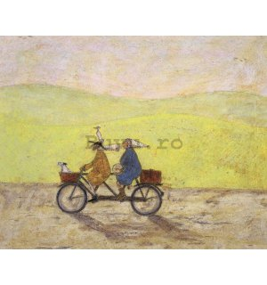 Tablou canvas - Sam Toft, Grand Day Out (1)