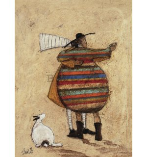 Tablou canvas - Sam Toft, Dancing Cheek to Cheeky
