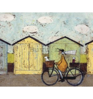 Tablou canvas - Sam Toft, Off for a Breakfast