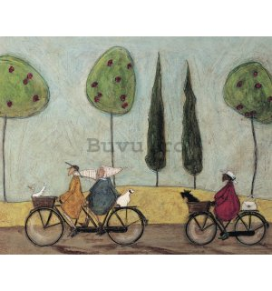 Tablou canvas - Sam Toft, A Nice Day for It