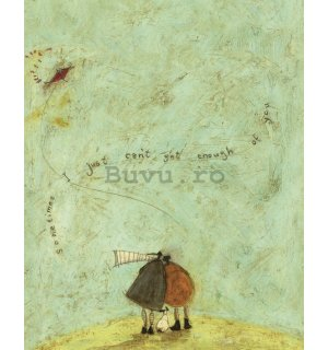 Tablou canvas - Sam Toft, I Just Can't Get Enough of You