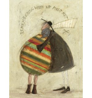 Tablou canvas - Sam Toft, Remembering When We First Met