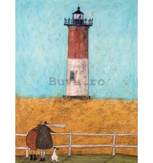 Tablou canvas - Sam Toft, Feeling the Love at Nauset Light