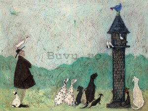 Tablou canvas - Sam Toft, An Audience with Sweetheart