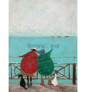 Tablou canvas - Sam Toft, We Saw Three Ships Come Sailing