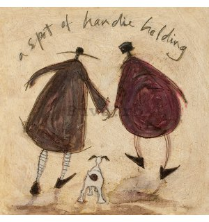 Tablou canvas - Sam Toft, A Spot of Handie Holding