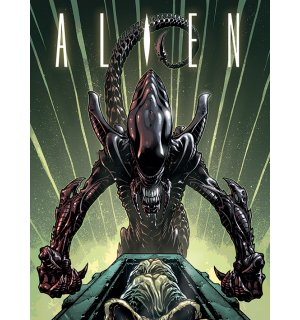 Tablou canvas - Alien