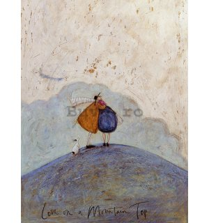 Tablou canvas - Sam Toft, Love on a Mountain Top