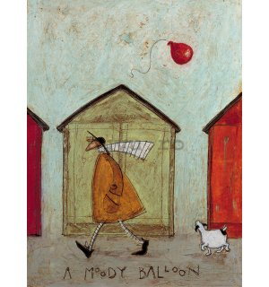 Tablou canvas - Sam Toft, A Moody Balloon
