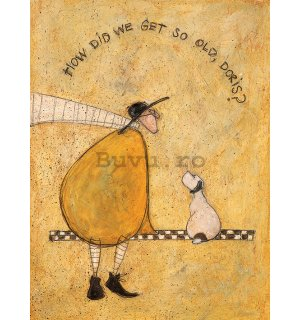 Tablou canvas - Sam Toft, How Did We Get So Old, Doris?
