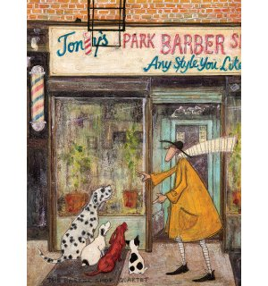 Tablou canvas - Sam Toft, The Barber Shop Quartet