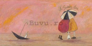 Tablou canvas - Sam Toft, A Sneaky One II