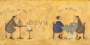 Tablou canvas - Sam Toft, Tea For Two Tea For Three