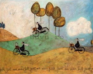 Tablou canvas - Sam Toft, Just One More Hill