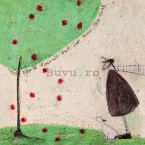 Tablou canvas - Sam Toft, The Apple Doesn't Fall Far From Tree
