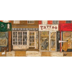 Tablou canvas - Sam Toft, On a Street Where You Live