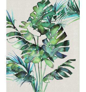 Tablou canvas - Summer Thornton, Monstera Leaves