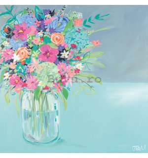 Tablou canvas - Janet Bell, Summer Posy