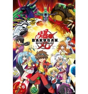Poster - Bakugan battle brawlers