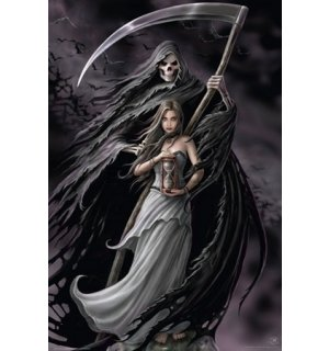 Poster - Anne Stokes summoning the reaper