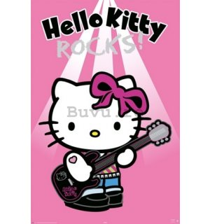 Poster - Hello Kitty rock