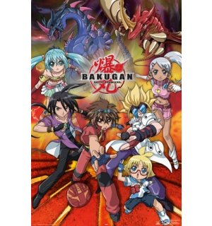 Poster - Bakugan action