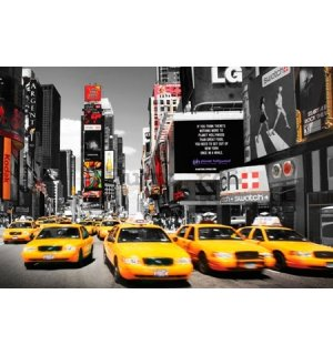 Poster - Taxi galben, Time Square (4)
