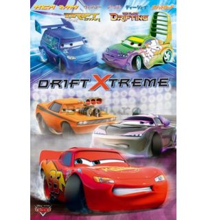 Poster - Cars drift extreme