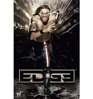 Poster - WWE edge running
