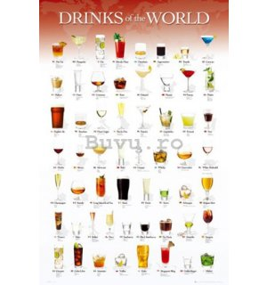 Poster - Drinks of the World