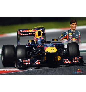 Poster - Red Bull Racing (Webber)